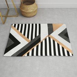 Stripe Combination Rug