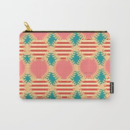 LAUREL WREATH PATTERN Carry-All Pouch