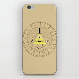 Bill Cipher summoning iPhone Skin