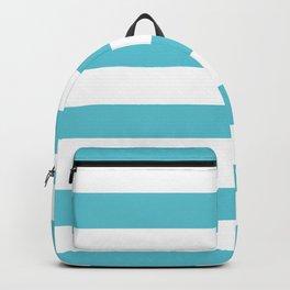 Simply Stripes in Seaside Blue Backpack