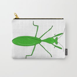 Pedro the Praying Mantis Carry-All Pouch