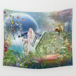 Butterfly Fairy Wall Tapestry