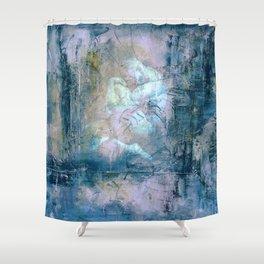 Framed Man Shower Curtain