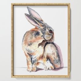 Cottontail Rabbit Serving Tray