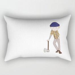 Young Paul Bunyan Rectangular Pillow