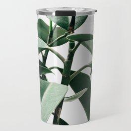 Plant, Green, Minimal, Trendy decor, Interior, Wall art, Photo Travel Mug