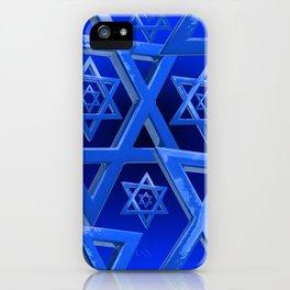 Star of David iPhone Case