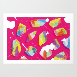 to go pleasantly  Art Print