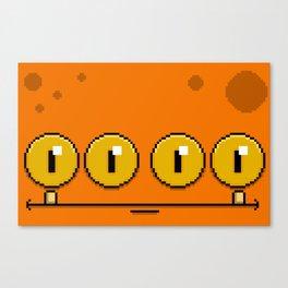 Stumpy (pixel) Canvas Print
