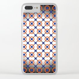 Atomic Mesh Clear iPhone Case