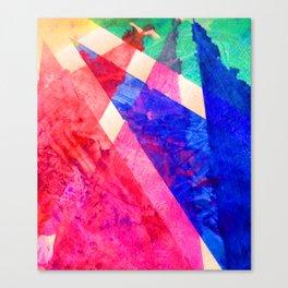 Rainbow Shards Canvas Print
