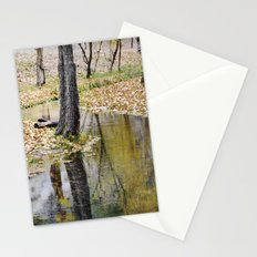 Cristal river. At the mountains. Stationery Cards