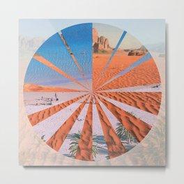 Wadi Rum vs. Tenerife Metal Print