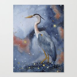 Wading in the Wonderland Canvas Print