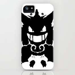 Who's That Inkblot?  It's Gengar! iPhone Case