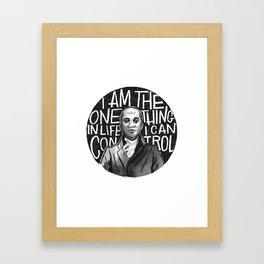 Wait For It [Aaron Burr] Framed Art Print