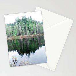 Symmetrical Reflection Stationery Cards