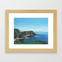Islay Scotland Oil on Canvas Framed Art Print