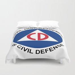 Civil Defence Duvet Cover