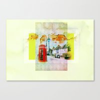 england Canvas Prints featuring England by Lora