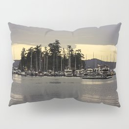 GLOWING SKY SOUTH OF WEST SOUND Pillow Sham