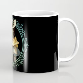 Alice and the Smoking Caterpillar - Alice in Wonderland Coffee Mug