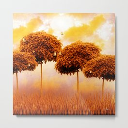 Tangerine Trees and Marmolade Skies Metal Print
