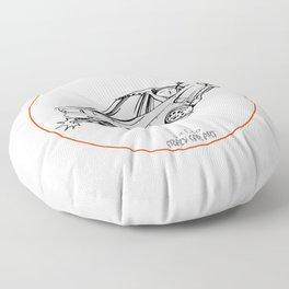 Crazy Car Art 0191 Floor Pillow