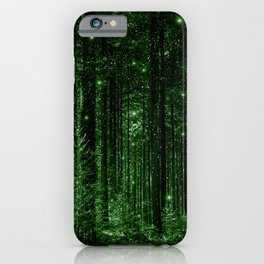 Enchanted Green Forest iPhone Case