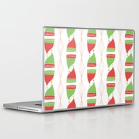 hats Laptop & iPad Skins featuring Elf Hats by applesandcinnamon