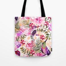 Hummingbird Garden Tote Bag