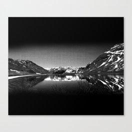 Mountain View at Norvegian Canvas Print