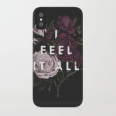 I Feel It All iPhone X Slim Case