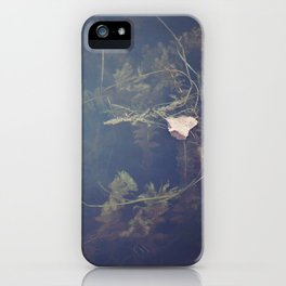 Murky Waters iPhone Case