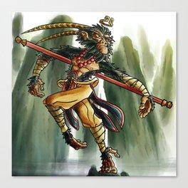 Son Wukong  Canvas Print