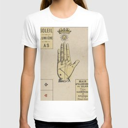 Vintage French Sun Tarot Card T-shirt