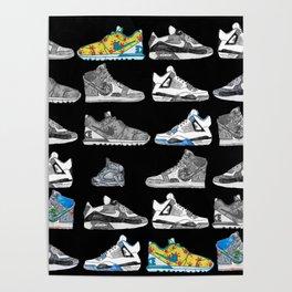 Seek the Sneakers Poster