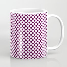 Blackberry Polka Dots Coffee Mug