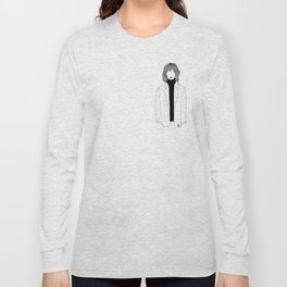 La fille sans visage °2° Long Sleeve T-shirt