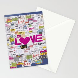LOVE BOMB. Stationery Cards