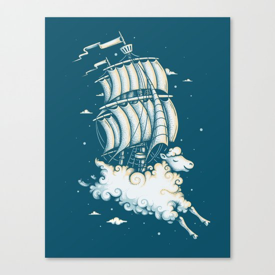 Shipped Away Canvas Print
