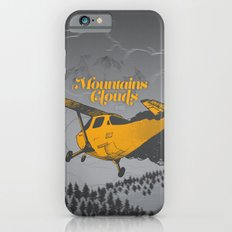 Mountains Hide in Clouds II - Gray iPhone 6s Slim Case