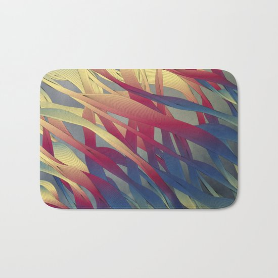 Modern Aquatic Nightsongs Bath Mat