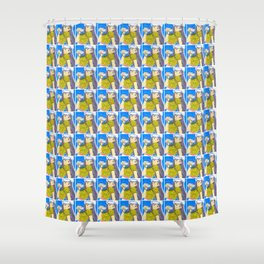 Emiko Sailing... Somewhere! Shower Curtain