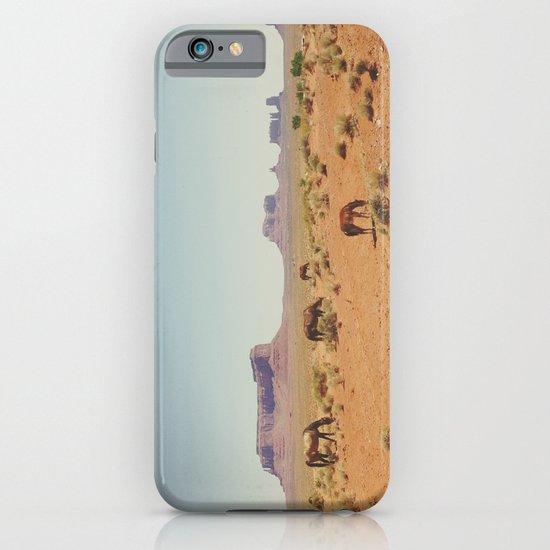 Grazing The Desert iPhone & iPod Case