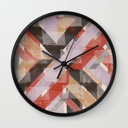 Weave - by Kara Peters Wall Clock