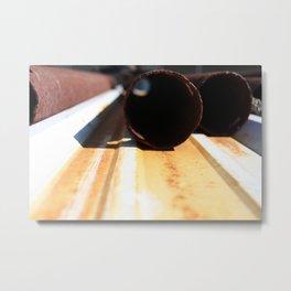 Cylinder Sleeve Metal Print