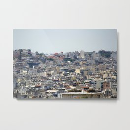 Overview of Athens Metal Print