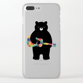Happy Song Clear iPhone Case