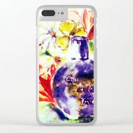 Eau de la Terre Clear iPhone Case